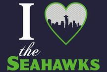 Seattle SEAHAWKS! / GO HAWKS!! / by Tanya Marie