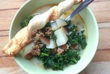 Soups (Kitchen approved) / Soups that have won the approval of our kitchen.