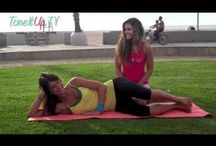 Pilates  / To help sculpt your body long and slender! / by Tricia Bommarito