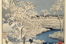 Art-Eastern-Japanese-Hiroshige Utagawa (Ando; 1797-1858) / Utagawa - Ando - Hiroshige (1797-1858)