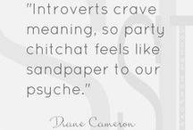 Introvert - I do recognize myself