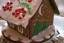Gingerbread Houses / by Amy Grubb