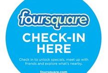 Foursquare / The place to be!