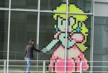Post-it wars / Funny drawings at the office
