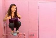 """Owling / A variation on planking in which a person squats """"like an owl"""""""