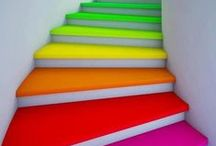 living a colorful life! / Just a random collection of ways to add a splash of color to your day!