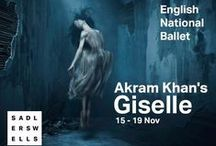 Akram Khan's Giselle / In a brand new version created by Sadler's Wells Associate Artist Akram Khan, Giselle sees the real and the spiritual collide. The young and beautiful peasant girl Giselle falls in love only to find that her beloved is betrothed to another. Distraught, she dies of a broken heart until the Wilis, a group of supernatural women who kill men by dancing them to death, bring Giselle back from the grave. More info here:  http://bit.ly/2agMrJ8