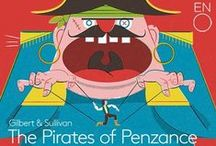 The Pirates of Penzance / Big, bold and buzzing with energy, The Pirates of Penzance will be a hit among young and old alike. Don't miss your chance to see this sparklingly funny opera on London's West End; grab your tickets to the ENO's The Pirates of Penzance now. Click here: http://bit.ly/2alLUnK