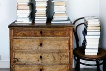 """Oh, the lovely books! / """"Give me a room whose every nook is dedicated to a book.""""  --Frank Dempster"""