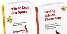 Tripawd Books / Best tips for amputee pets including dogs, cats and other animals.