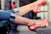 Shoes are a girl best friends / a woman in beautiful shoes is never ugly! / by Preppy Lulu by Clau Villouta