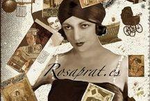 Diseños. / Dibujos digitales.  Imagen: www.rosaprat.es ©