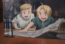 Fullmetal Alchemist~ / Screencaps, fanart and merch from FMA and FMA:Brotherhood / by Samanta Marie