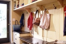 Closet & Entryway Love / Includes closets, mudrooms, entryways, stairways, pantries... you name it.