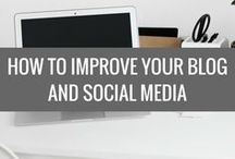 How to improve your blog and social media / Board featuring top tips, tutorials and how to's on improving your blog. Whether you are looking to update something technical or wish to increase visitors and make money.