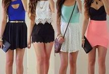 Full outfits. / by Casondra Bunker ♡