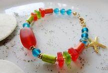 Beach Jewelry Sea Glass / beach and summer jewelry