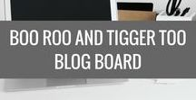 Boo Roo and Tigger Too - Blog Board / All the goings on from Boo Roo and Tigger Too