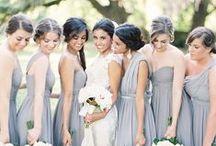 Wedding color schemes / by Cerilyn Burgos