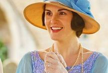Downton Abbey / clothes, food and style of the series
