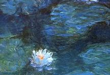 Monet / Paintings by French impressionist Claude Monet | modern art, impressionism, impressionist art, abstract landscapes, impressionist landscapes