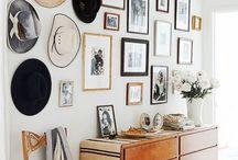 Wall Art / wall art, displaying art, art filled walls, home decor, art for your home, art for your walls, art display ideas, art for interiors, abstract art for the nursery, abstract art for the bedroom, abstract art for the living room