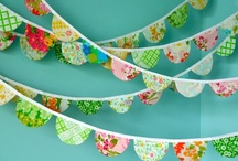 Mobiles and garlands