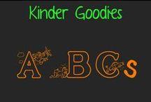 kinder goodies {ABCs} / by Amy Mc