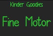 kinder goodies {fine motor} / by Amy Mc