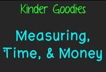 kinder goodies {measuring, time & money} / by Amy Mc