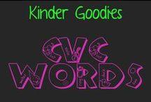 kinder goodies {cvc} / by Amy Mc