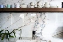 Kitchen / Limestone, marble, slate, granite and other natural stone for kitchens
