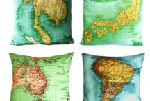 Crafts: maps / by Samantha Morine Crocker
