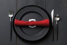 Halloween - Dinner party / Ideas for the table