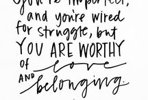 You are worthy / #worthy #youareworthy