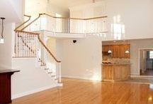 Stairways, Hallways, and Staircases / A sampling of #stairway and #staircaseideas from custom homes we've built. For more inspiration visit: http://www.brombuilders.com/home-ideas-gallery/