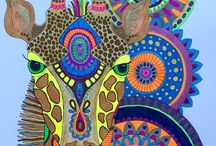 ColoringCreativity / I love creating with color! From coloring books to coloring stones, I release my creativity. Enjoy my works of art along with other colorful pins.