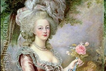 Marie Antoinette Inspired / Marie Antonia Josephina Johanna was born on November 2, 1755 at Hofburg Imperial Palace, Vienna, Austria. In April of 1770, at the age of 14, she married Louis XVI of France. Four years later in 1774 she became Queen  of France and Navarre.  Her tenure lasted 18 years (May 1774 - September 1792). She was tried and convicted of treason and executed by guillotine on October 16, 1793 at Place de la Concorde, Paris, France. She was 37 years old at the time of her death. / by Julie Keeter