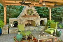 Porches and patio's / by Donna Schaner
