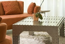 """In the City by Iron Accents"" / Decorate your concrete jungle digs with pieces as vibrant and lively as the metropolis beyond your front stoop. Our ""In the City"" board highlights contemporary styled rooms designed with open space and natural light in mind. Because there isn't any clutter in these expansive spaces, every piece has to count. Check out some of our pieces that work perfect in any contemporary space. / by Iron Accents"