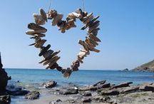 DIY & Crafts ~ Beach⚓ ⚓ ⚓Coastal, Nautical Style - Shells, Sea Glass & Stones / by JSP