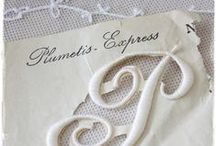 Calligraphy ~ Individual Letters: Forms; Simple, Illuminated & Tangles / by JSP