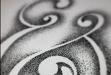 Calligraphy ~ Ampersands & Music Stafs & Symbols / by JSP