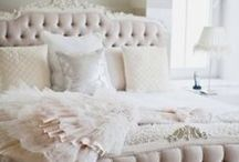 BEDROOM / design inspiration for the bedroom. color, art, products, decor. / by Rachel Sevin