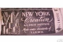 Calligraphy ~ Clothing Labels / Calligraphy ~ Typography ~ Vintage & New Clothing Labels with designs for calligraphic inspiration / by JSP