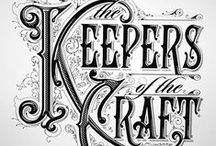 Calligraphy & Typography ~ Vintage Signage / by JSP