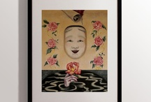 Josianne Ishikawa / The themes and form of Josianne Ishikawa's works result from her everyday life experience in Japan. The artist declares that in her art she wants to express the beauty, culture, nature, power and perseverance of the human mind.