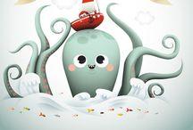 Children's Book Illustrators / Children's book illustrations and inspirations. / by Jennifer Pugh Studios