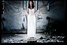 Linen Eco bags photoshooting by Izabela Wrzos
