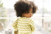 Cuties with Curls / We're spinning in our styling chairs over these tots with textured and natural curly hair.